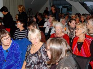 Publikum på Hulda